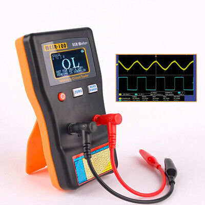Esr Low Ohm Meter Capacitance Resistance Capacitor Circuit Tester Mesr-100 O6q7