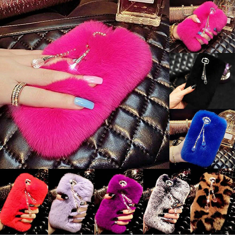 black-samsung-galaxy-note-5-4-3-fur-furry-cases-covers-phone-accessories-girls