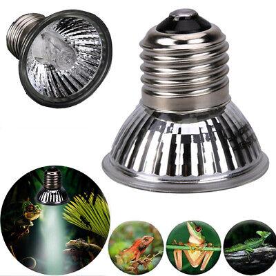 Reptile Light Bulb UV Heat Emitter Lamp Tortoise Turtle Calcium Supplement E27