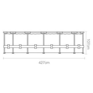 Bestway Steel Round Frame Pool 107CM