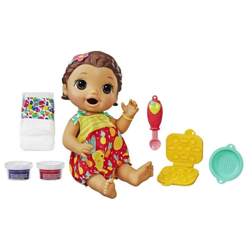 Baby Alive Super Snacks Snackin' Lily Baby: Blonde Baby Doll That Eats, with