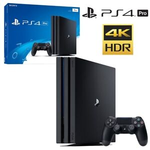 Never Used PlayStation 4 Pro 1TB, 2X🎮 Dualshock 4, Game,
