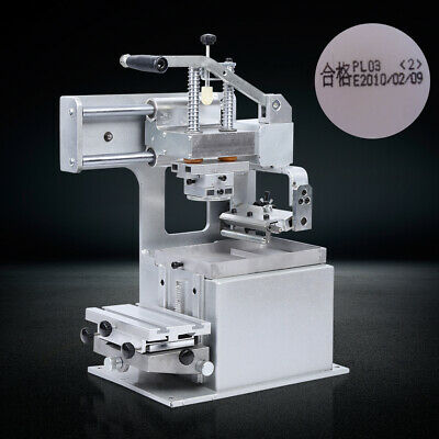 Manual Pad Printing Machine Pad Printer Plate Sign Logo Label For All Type