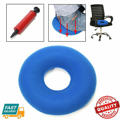 Inflatable Hemorrhoid Cushion Ring Donut Round Seat Pillow Medical Donut Seat US