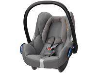 Maxi Cosi Cabriofix Baby Car Seat Group 0 & RainCover