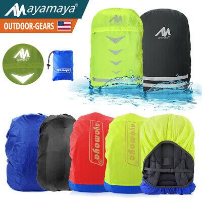 Waterproof Backpack Rain Cover Bag Rucksack Dust Snow Protector Camping (Backpack Rain Cover)