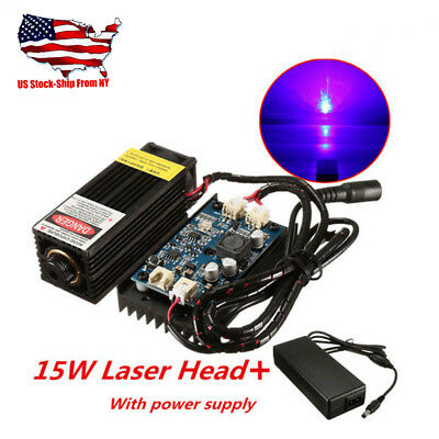 15w Laser Head Engraving Module W Ttl For Metal Marking Wood Cutting Engraver
