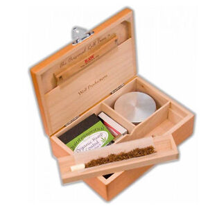 Wolf  Productions DELUXE T2L  ROLLING TRAY BOX MAPLE