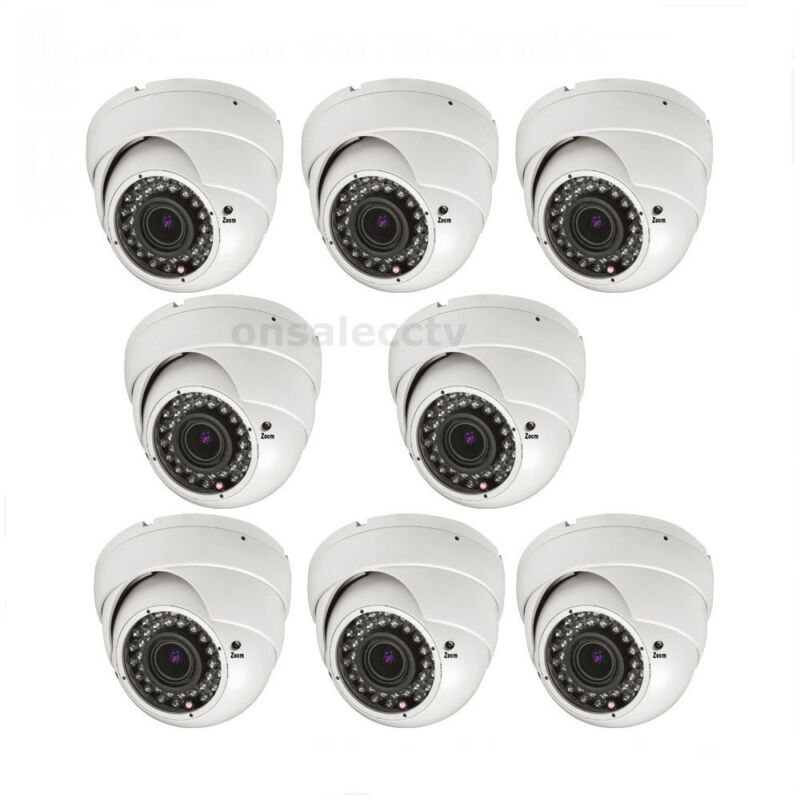 Am 1800tvl 36ir 2.8 -12mm Vari-focal Zoom Surveillance Security Camera With Ac