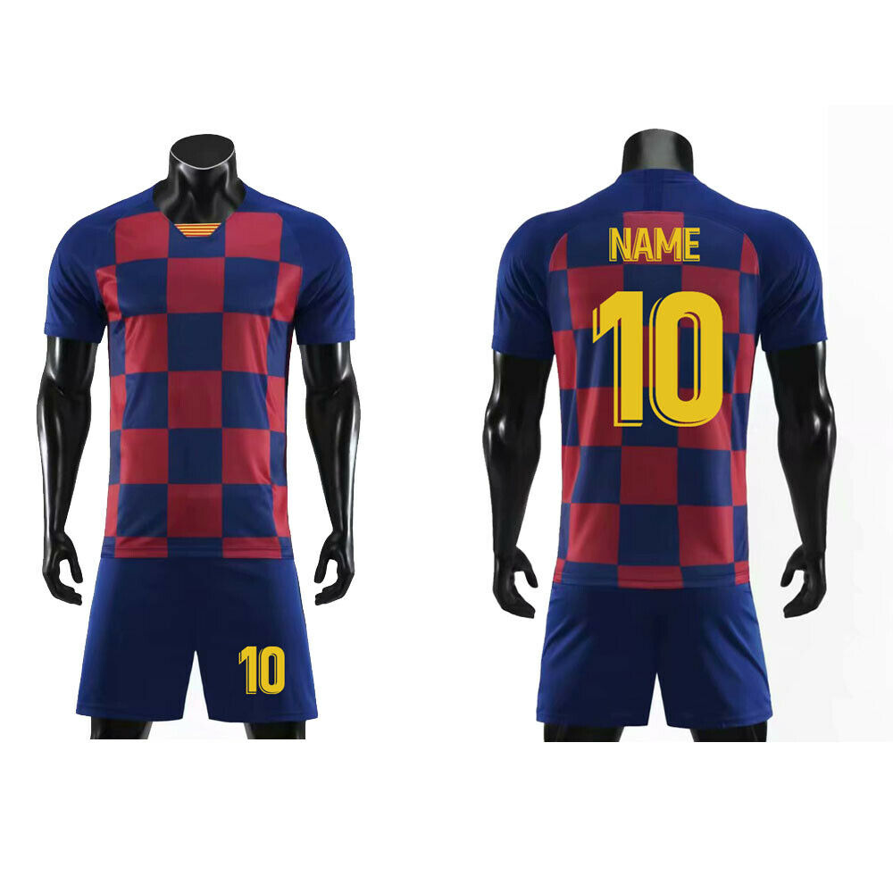 2020 Customize Football Jersey Adult Soccer Jersey Clothes S