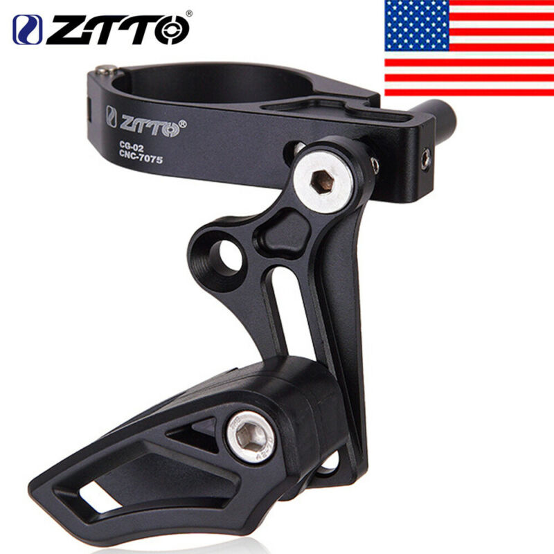 ZTTO MTB Mountain Bike 1S Single Seat tube clamp chain guide 35/ 31.8mm New 2020