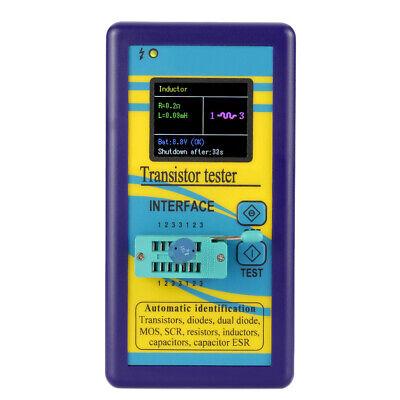 Transistor Tester Diode Thyristor Capacitance Resistor Mosfet Esr Lcr Meter F5y9
