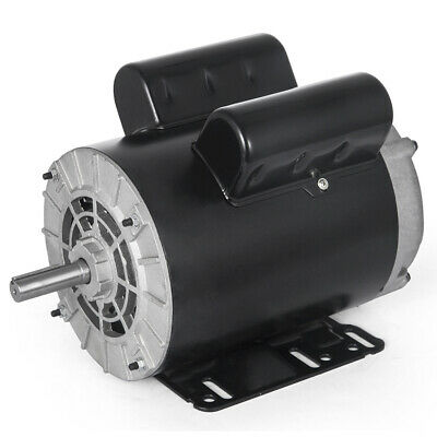 3 Hp Spl 1 Phase Electric Air Compressor Duty Motor 56 Frame 58 Shaft 3450rpm