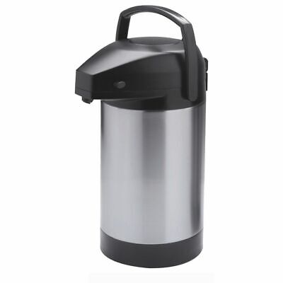Hubert Airpot Thermal Coffee Dispenser With Pump Lid 2.5 Liter