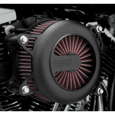 Vance & Hines Black VO2 Rogue Air Cleaner Intake for Harley Twin Cam -See Desc.