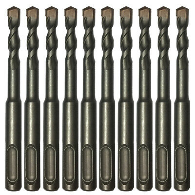 10pc 14 X4 Drill Bit Set Sds Plus Rotary Hammer Concrete Masonry Carbide Tip