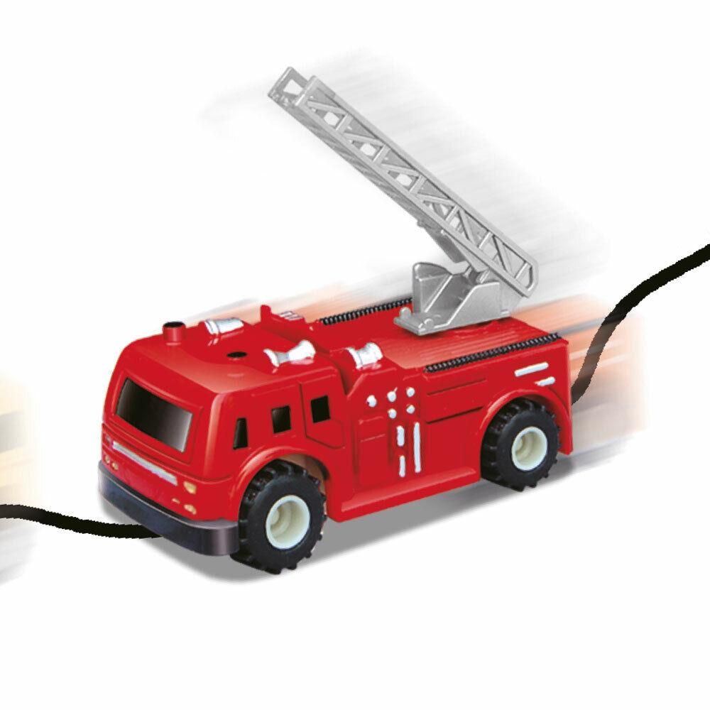 DS24 Induktives Feuerwehrauto Spielzeug Fahrzeug mit magischem Stift Gadget