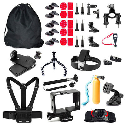 46 in 1 Accessories For Gopro Action Camera Mounts For Gopro Hero 1 2 3 4 5