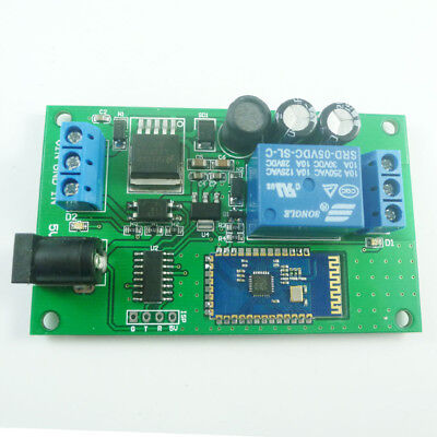 12V 2.4G Bluetooth Relay Android Mobile Remote control for Light Switch Lock NET