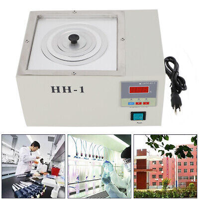 Hot 110v Hh-1 Digital Lab Thermostatic Water Bath 300w Single Hole 300w Hh-1