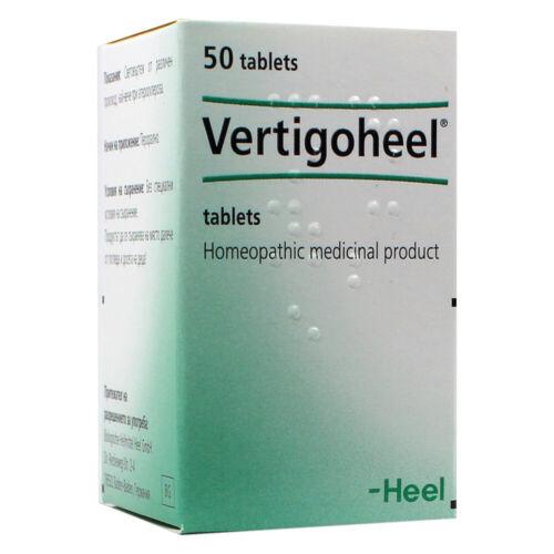 Heel Vertigoheel Homeopathic Tablets Remedy for Dizziness Nausea Vertigo 50 tabs