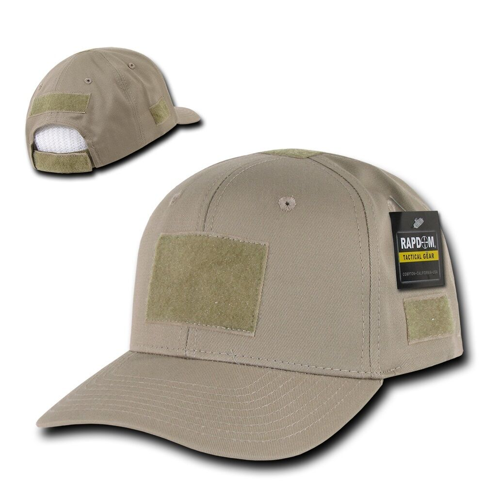 Details about Solid Khaki Beige Tan Tactical Operator Contractor Military  Patch Cap Hat