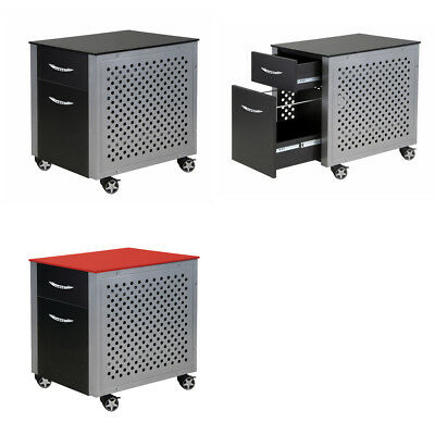 Pitstop Furniture Rolling Automotive Office Storage Filing Cabinet