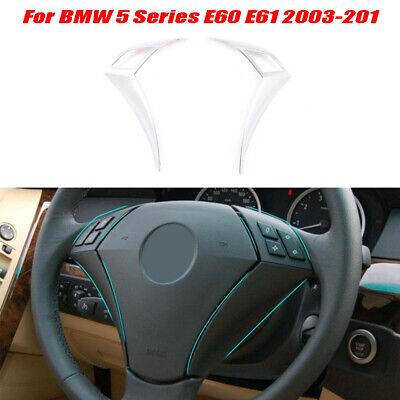 For BMW 5 Serie E60/E61 2003-2010 ABS Volante Botón Accesorios de Cubierta