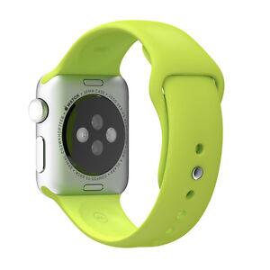 34d5dd394 Genuine Apple Watch 38mm Green Sport Band Mj4l2zm/a for sale online ...