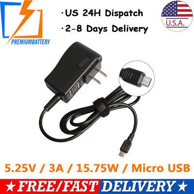 AC to 12V 5V DC Power Supply Adapter w// 4-Pin Molex Connector Plug GX-0518