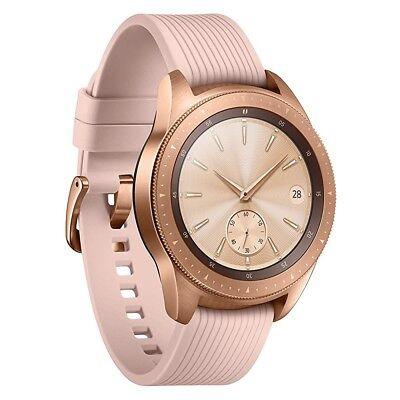Samsung Galaxy Watch R810 rose-gold 42mm Smartwatch Fitnesstracker Handyuhr