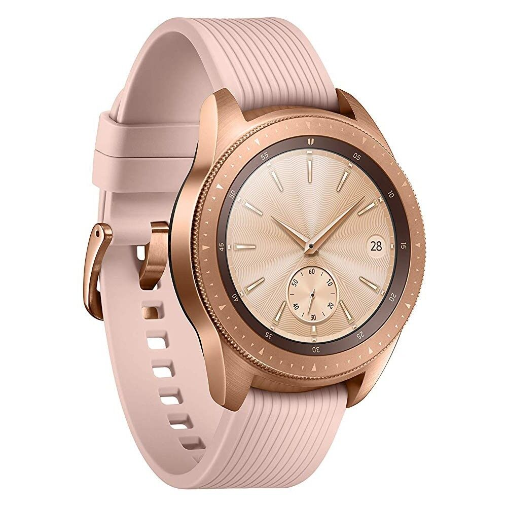 Samsung Galaxy Watch R810 rosegold 42mm Smartwatch Fitnesstracker Handyuhr