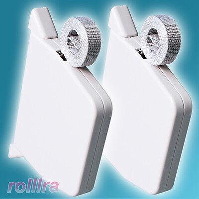 2x Rolladen Mini Gurtwickler inklusive Gurt Rollladen Rollo Rolladengurt Fenster