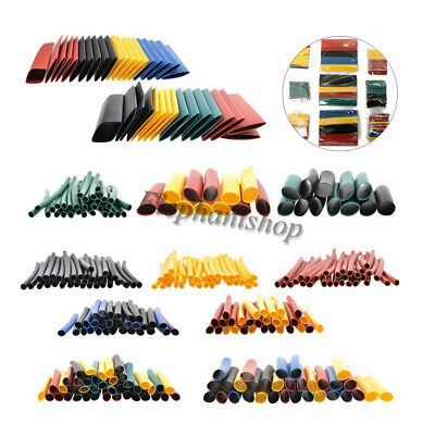 328pc 21 Heat Shrink Tube Assorted Insulation Shrinkable Tube Wire Cable Sleeve