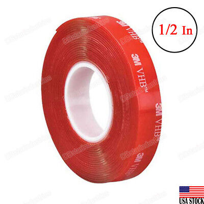 3m Vhb Heavy Dutytranspare Double Sided Tape 4910 Clear 12 Width X 15 Ft