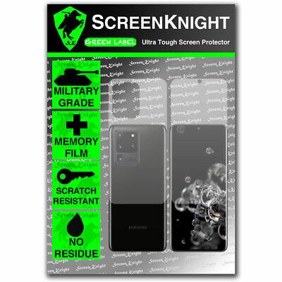 Screen Protector for Samsung Galaxy S20 Ultra 5G - Fullbody - ScreenKnight