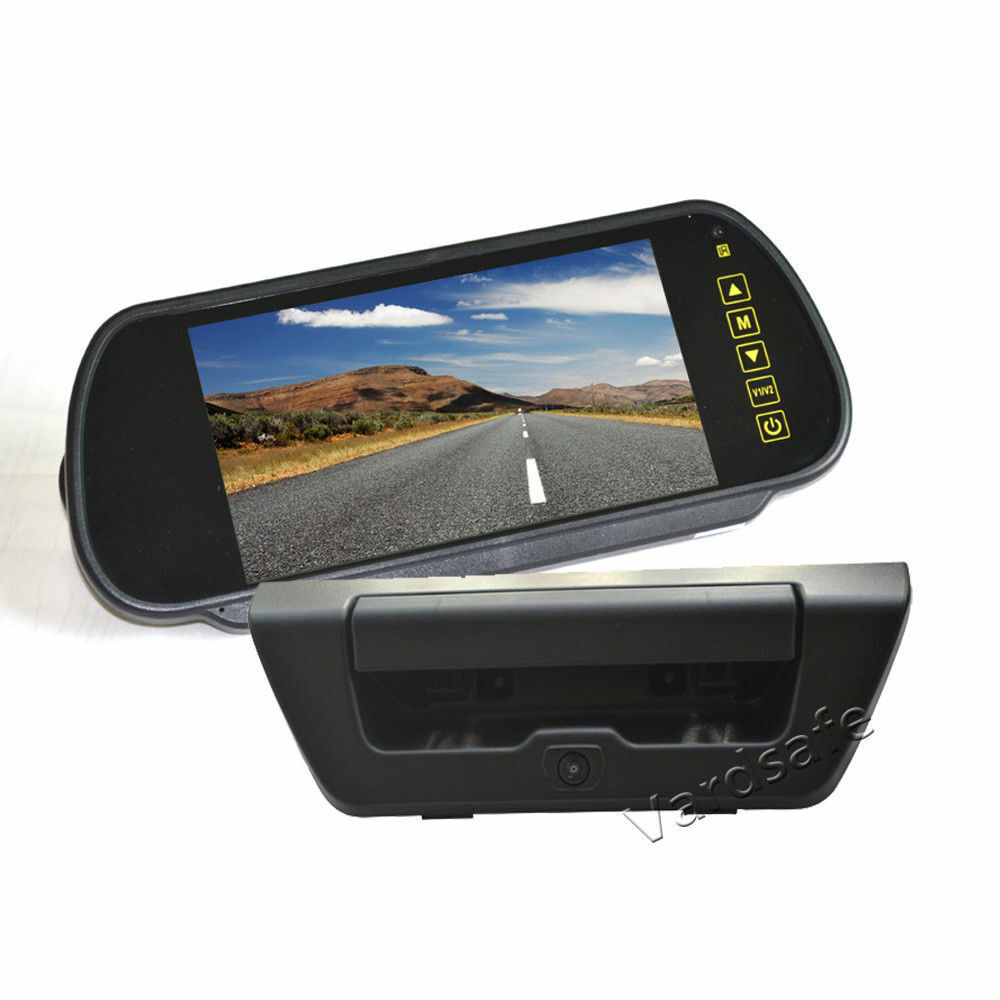 Rear View Reverse Backup Camera Mirror Monitor Kit for Ford