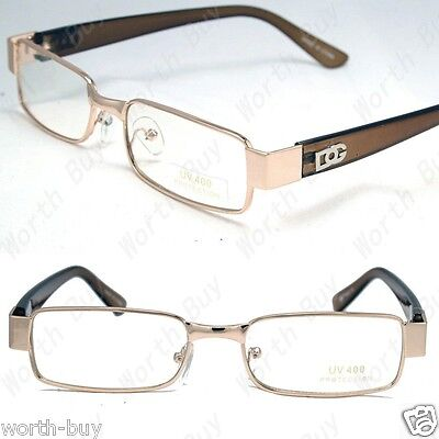 New Mens Womens DG Clear Lens Frame Glasses Designer Fashion Optical RX Nerd 32