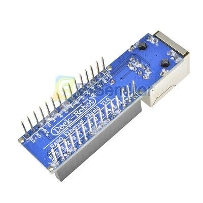 Mini Enc28j60 Webserver Module Ethernet Shield Board For Arduino Nano V3.0