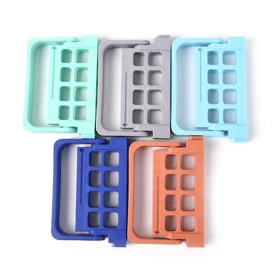 8 Holes Dental Autoclavable Endo File Stand Block Holder Disfection Box 5 Colors