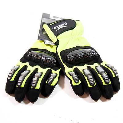Condor 33J495 Mechanics Gloves High-Visibility Synthetic Leather Palm Size Small Synthetic Leather Palm Gloves