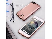 BRAND NEW 5000mAh External Battery Charger Case Cover Backup Power Pack iphone 6 6s 7