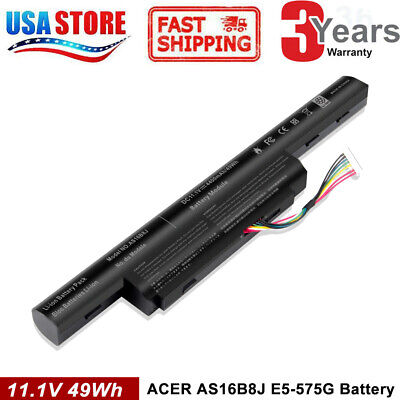 "AS16B5J AS16B8J Laptop Battery for Acer Aspire 15.6"" inch E5-575G-53VG"