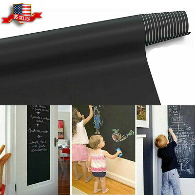 Large Chalk Board (6.6FT Chalkboard Wall Sticker Blackboard Removable Chalk Board Contact)