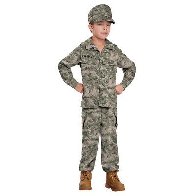 Boys Soldier Military Halloween Costume - Boys Military