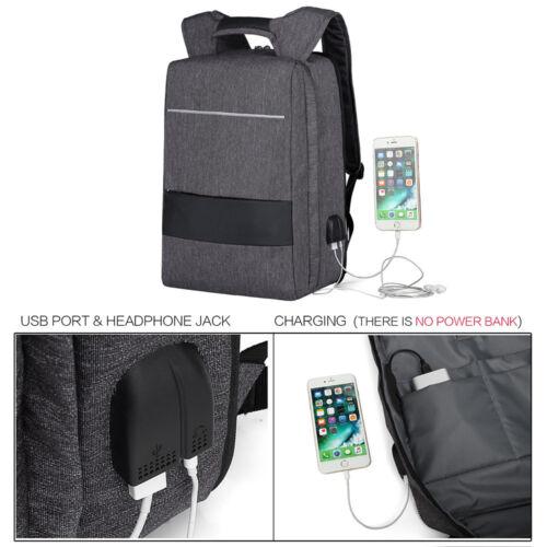 """Rucksack 17,3"""" Notebooktasche Notebook Laptop Tasche Backpack USB 17 Zoll"""