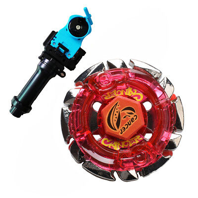 BB55 Dark Gasher Cancer  Beyblade Metal Fusion Masters With Handle Launcher ()