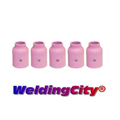 Weldingcity 5-pk Tig Welding Large Gas Lens Ceramic Cup 53n88 10 Us Seller