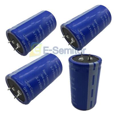 124pcs 2.7v- 500f Electric Farad Capacitor Electrical Component Super Capacity