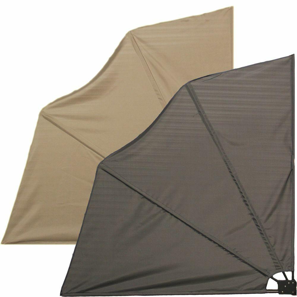 Balkonfächer Sichtschutz Balkonsichtschutz Windschutz Seitenmarkise Sonnenschutz